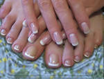 Укрепление натуральных ногтей биогелем