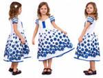 Модные фасоны летних платье для девочек